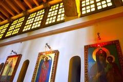 Orthodoxe kerkschilderijen royalty-vrije stock afbeelding