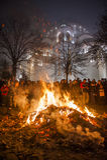 Orthodoxe Kerstmis van Servië Stock Fotografie