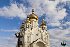 Orthodoxe Kirche Stockbild