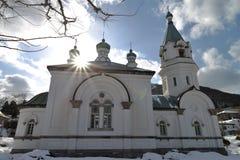 Orthodoxe Kirche Stockfotografie