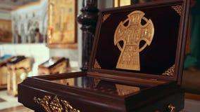 Orthodoxe Kirche stock footage
