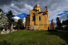 Orthodoxe Kirche in Belgrad, Serbien Lizenzfreie Stockfotografie