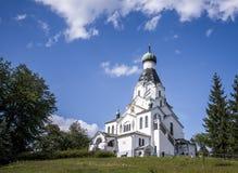 Orthodoxe Kirche in Medzilaborce Lizenzfreies Stockbild