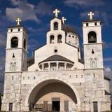 Orthodoxe Kirche in Podgorica, Montenegro Lizenzfreie Stockbilder