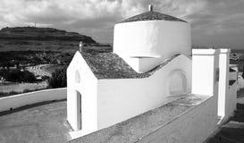 Orthodoxe Kirche Rhodos Stockfotos