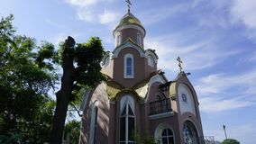 Orthodoxe Kirche in Russland Lizenzfreies Stockfoto