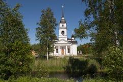 Orthodoxe Kirche in Russland Stockfotografie