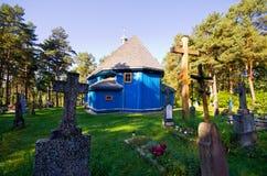 Orthodoxe Kirche in Saki, Polen Lizenzfreie Stockbilder