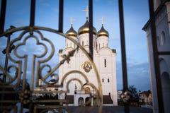 Orthodoxe Kirche Schneewittchens Lizenzfreies Stockfoto