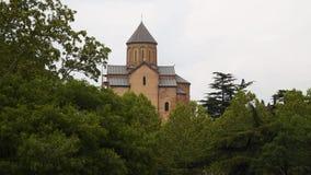 Orthodoxe Kirche in Tiflis Georgia stock video footage