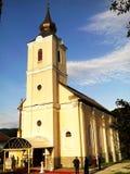 Orthodoxe Kirche von Certeju de Sus Lizenzfreie Stockfotos