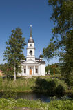 Orthodoxe Kirche von Sankt Nikolaus in Russland Stockfotografie