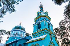 Orthodoxe Kirche von St.-Großherzog, Jurmala Lizenzfreie Stockfotografie