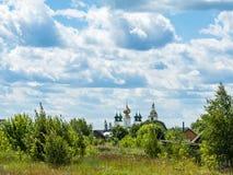 Orthodoxe Kirchen-Haube Stockfotos