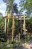 Orthodoxe kruisen Stock Afbeeldingen