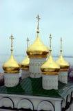 Orthodoxe moderne Kerk Stock Fotografie