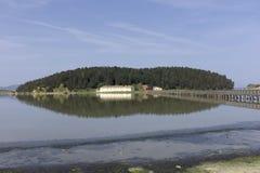 Orthodoxe Monastir of Zvernec. Royalty Free Stock Images