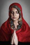 Orthodoxe Nonne Lizenzfreie Stockbilder