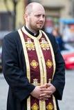 Orthodoxe priester Royalty-vrije Stock Afbeeldingen