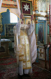 Orthodoxe priester Stock Foto's