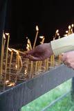 Orthodoxe rite Stock Fotografie