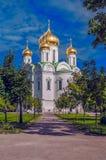 Orthodoxe Russische kerk Stock Foto's