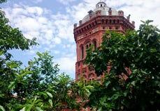 Orthodoxe school in Balat, Istanboel royalty-vrije stock foto's