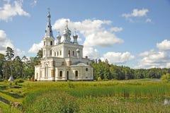Orthodoxe tempel Stock Afbeelding