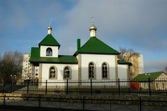 Orthodoxe tempel Stock Afbeeldingen