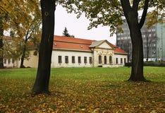 Orthodoxe Theologische Faculteit van Universiteit in Presov slowakije stock afbeeldingen
