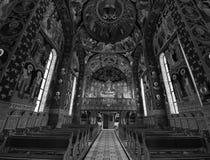 Orthodoxer betender Platz Stockbild
