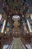 Orthodoxer betender Platz Stockfoto