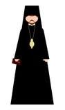Orthodoxer Bischof Stockbild