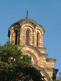 Orthodoxer Kirchturm, Belgrad, Serbien Lizenzfreie Stockbilder