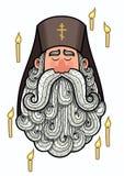 Orthodoxer Priester Lizenzfreies Stockfoto