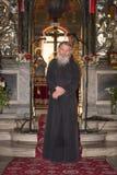 Orthodoxer Priester stockfotos
