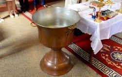 orthodoxer Taufe Thurible stockbilder