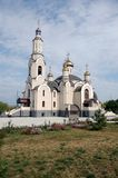 Orthodoxer Tempel Stockfotografie