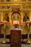 Orthodoxes Hochzeits-Zeremoniell lizenzfreie stockbilder