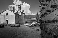 Orthodoxes Klostertor Lizenzfreies Stockbild