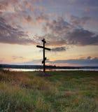 Orthodoxes Kreuz Lizenzfreie Stockfotos