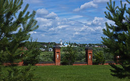 Orthodoxes männliches Kloster Vasilevsky Lizenzfreies Stockbild