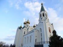 Orthodoxy church in Krasnodar, Temple of the Holy Spirit Royalty Free Stock Photos