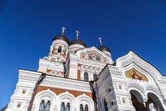 Orthodoxy Kathedraal royalty-vrije stock afbeelding