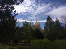Orthodoxy kerk Park stock fotografie