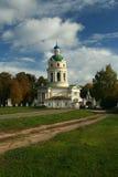 Orthodoxy kerk in Rusland stock foto's