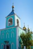 Orthodoxy Kerk in Uralsk royalty-vrije stock fotografie