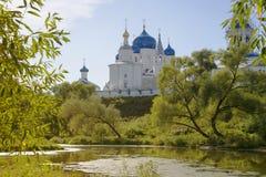 Orthodoxy klooster in Bogolyubovo Rusland royalty-vrije stock afbeeldingen
