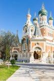 Orthodoxy kyrkliga trevliga Frankrike Arkivbilder