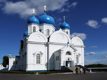 Orthodoxy monastery. Is in Bogolyubovo from Russia Stock Photography
